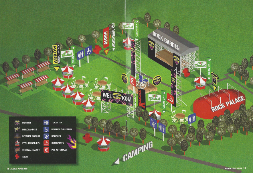 ARF plattegrond